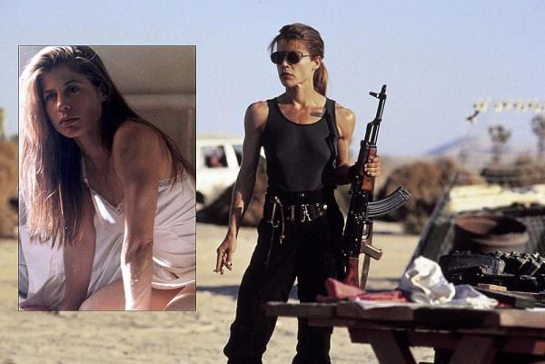 Linda Hamilton - Terminator 2-3