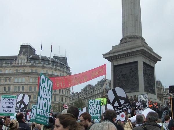 Londra-Trafalgar-meydani