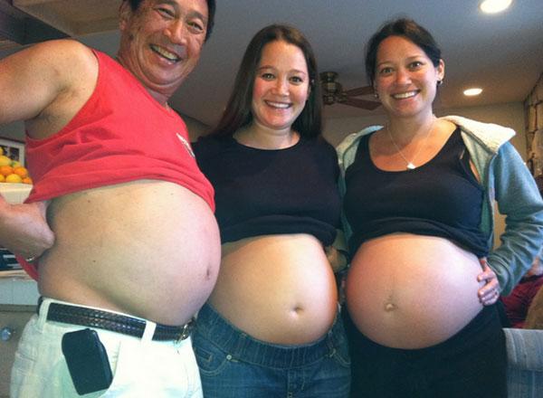 hamile-kadinlar-ve-adam