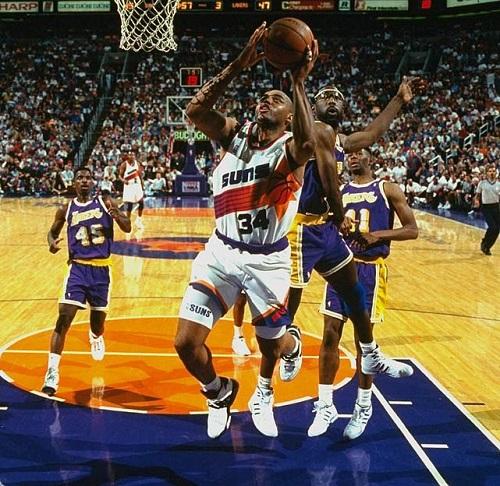 1993 Bati Konferansi ilk Tur (Phoenix Suns - Los Angeles Lakers)
