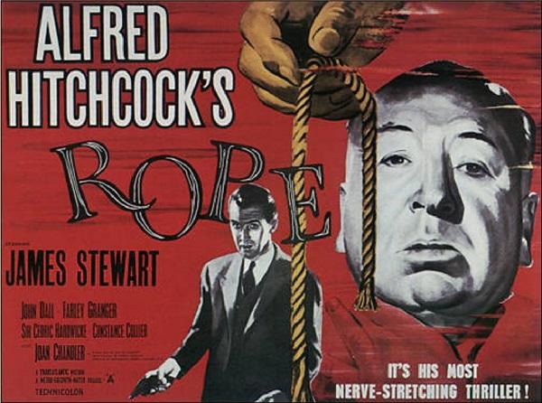 Ustanin ilk renkli filmi Olum Karari (Rope) (2)