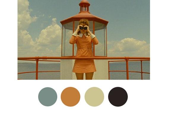 13 Renk Paletiyle Wes Anderson'ın Pastel Dünyasına Bir Bakış | ListeList.com