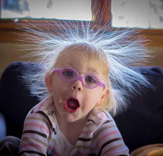 Penny s Hair and Static Electricity   Flickr   Photo Sharing