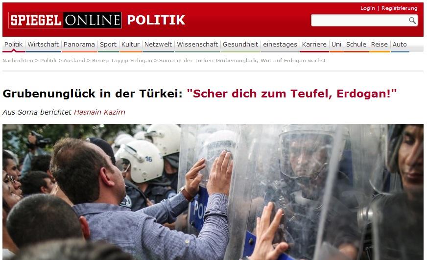 Soma der Wut auf Erdogan