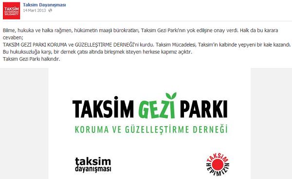 Taksim gezei