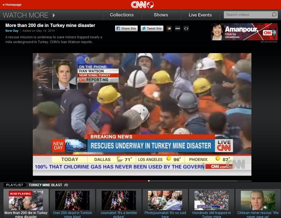 cnn-More than 200 die in Turkey mine disaster