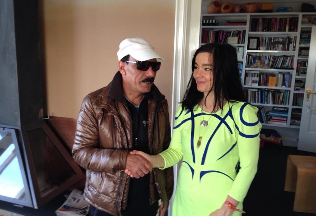 Björk With Omar