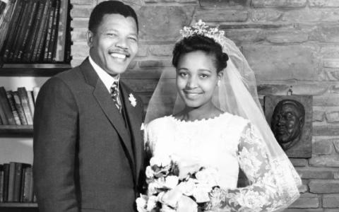 1958 - ikinci esi Madikizela evlendi mandela