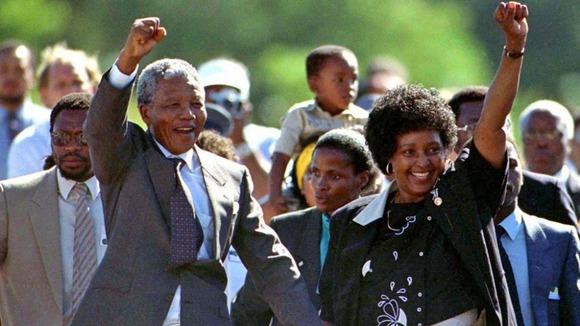 1990 - Madiba 28 yil sonra serbest mandela