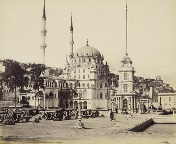 'Mosque of Tophana' [Mosque of Nusretiye, Constantinople, Turkey