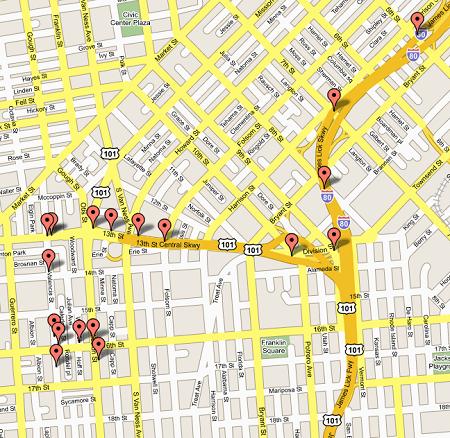 google-maps-adresler