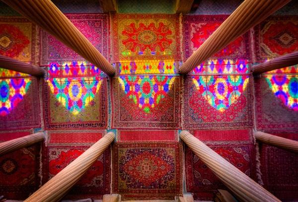 Columns-Colors-and-Light-Nasir-al-mulk-mosque-Shiraz-2013-ganji