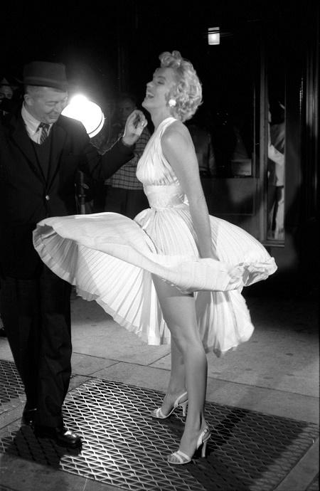 Marilyn Monroe- subway dress-listelist