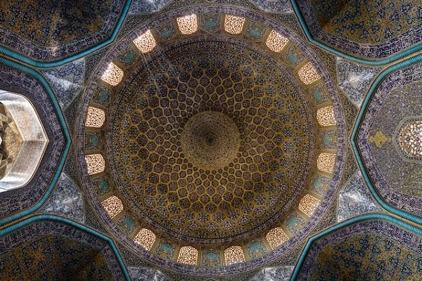 Sheikh-Lotfollah-Mosque-Dome-Isfahan-ganji