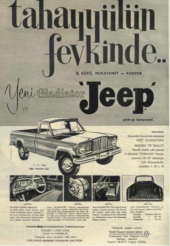 Jeep Gladiator-listelist