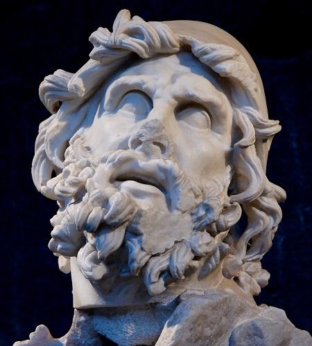 Odysseus-heykel-kafa