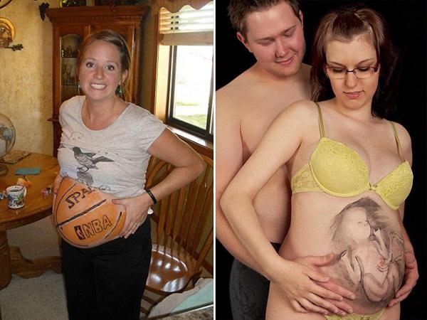 hamilelik-basketbol-topu