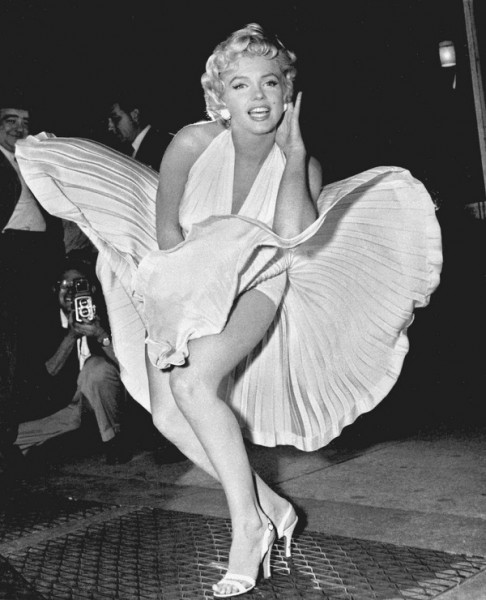 marilyn-monroe-beyaz-elbise
