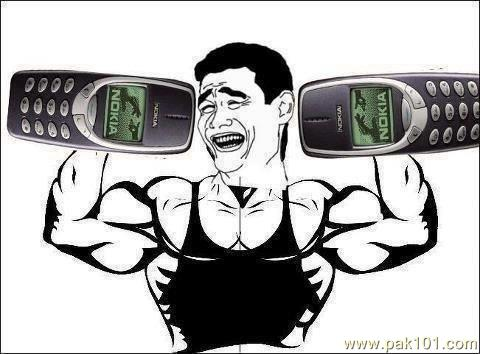 nokia-3310-muscle-funny