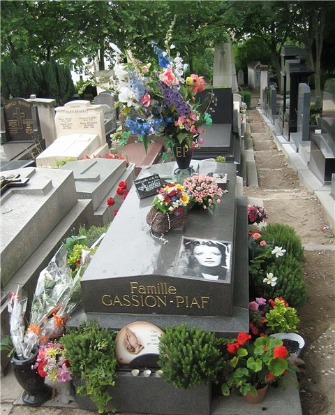 Pere Lachaise Cemetery in Paris, France tourism destinations