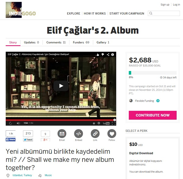 elif-caglar-ikinci-album-indiegogo