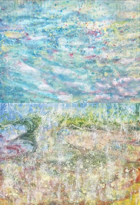 iris-grace-blue-water