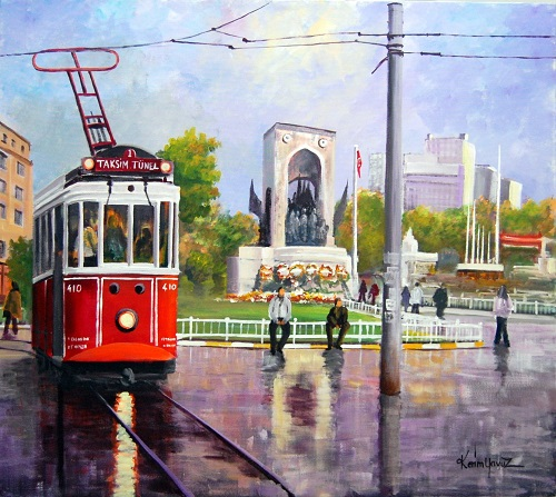 taksim-nostaljik-tramvay
