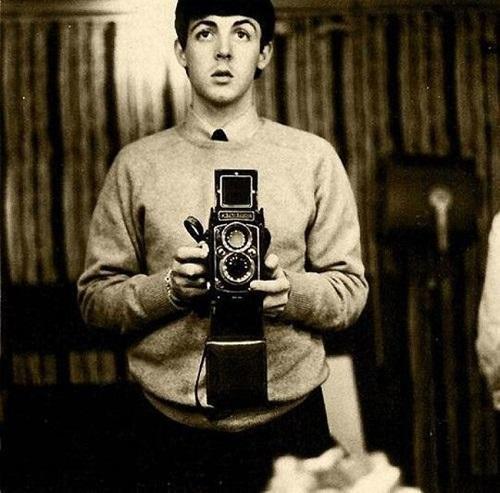 Paul McCartney-selfie