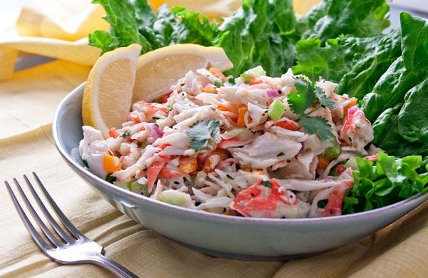 Yengec-Salata