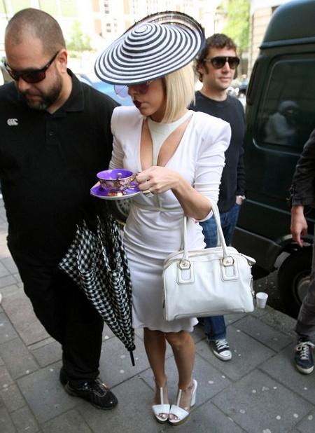 Lady Gaga Arrives At Radio 1! 1/1