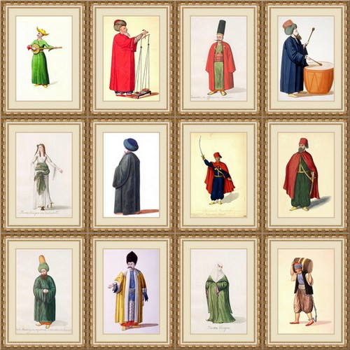 Portraits of Ottoman People