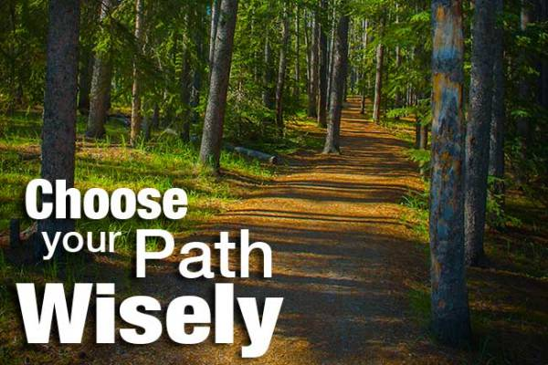 choose your path wisely