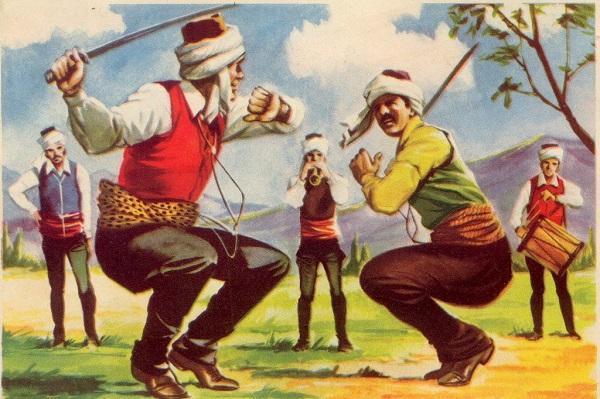 turc dance du sabre