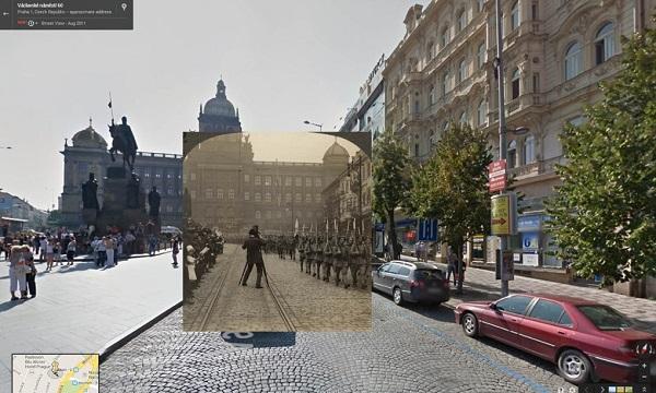 1919 The Czechoslovak Legion on parade in Prague