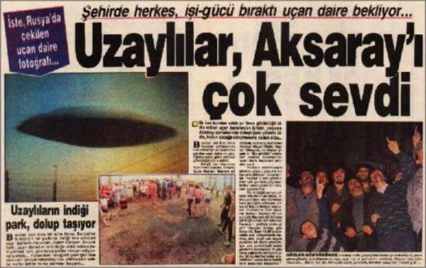 Aksaray ufo