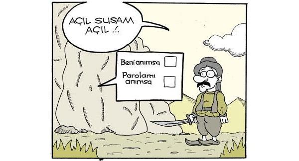 acil-susam-acil-beni-animsa-parolami-animsa-karikatur