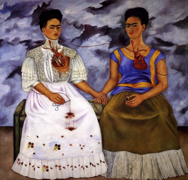 two fridas kahlo