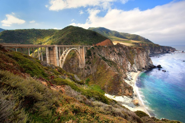 big sur kaliforniya