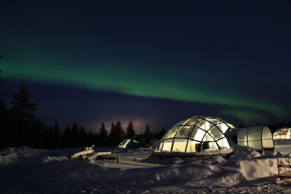 fin lapland kuzey isiklari