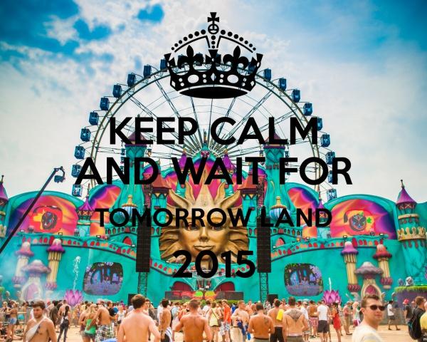 keep calm tomorrowland