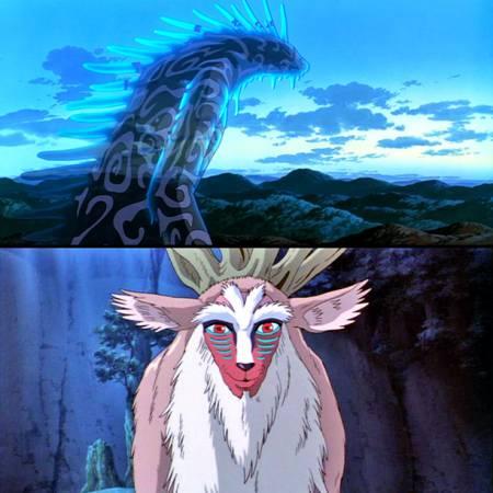 orman ruhu miyazaki