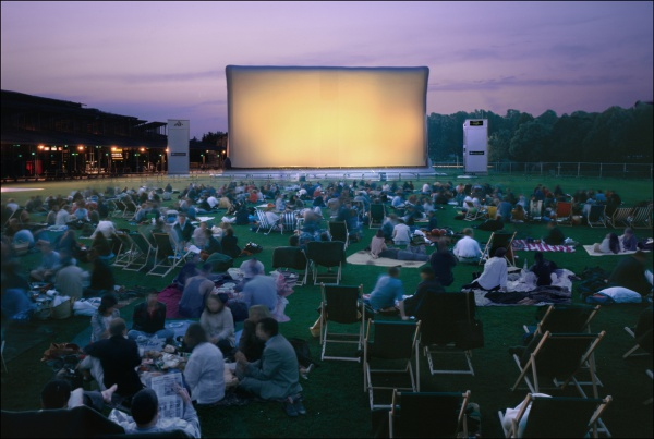 la villette acik hava sinemasi