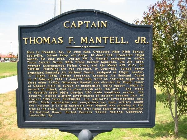 captain thomas mantell