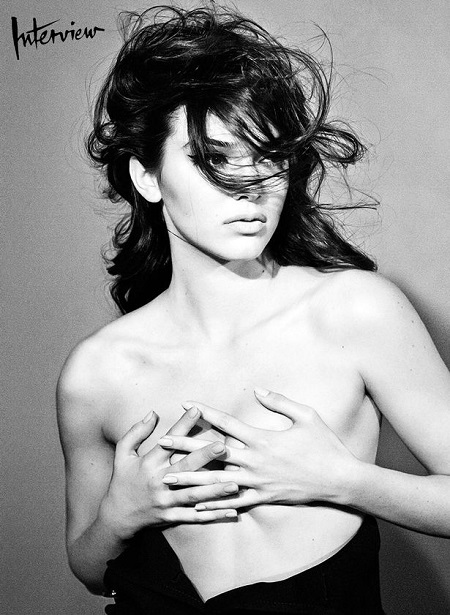 Kendall-Jenner-topless-in-Interview-Magazine-2014