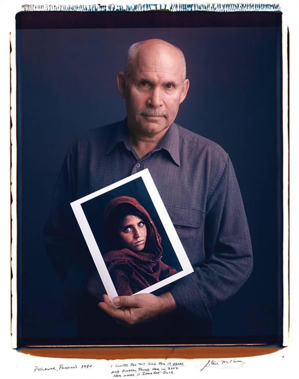 Steve McCurry - Girl In Afghanistan