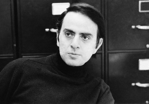 carl sagan genc