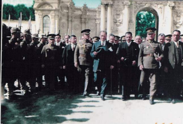 dolmabahce ataturk