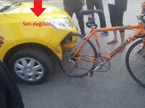 bisiklet-araba-komik