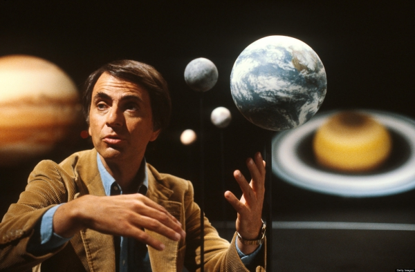 carl sagan uzay