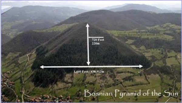 bosna piramidi uzunluk